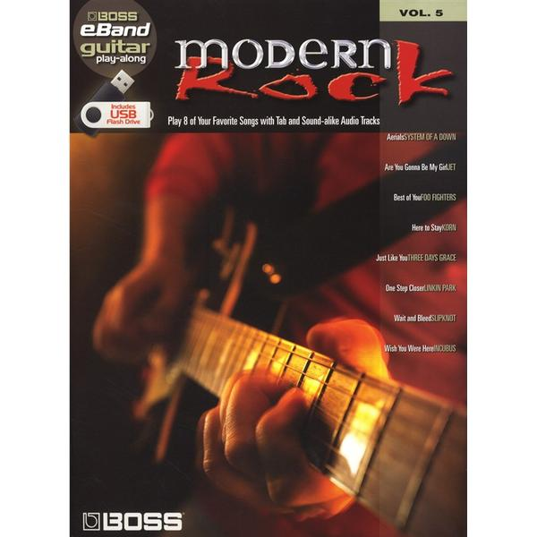 Boss Modern Rock Guitar Play Along Volume 5