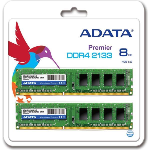 Adata Premier DDR4 2133MHz 2x4GB (AD4U2133W4G15-2)