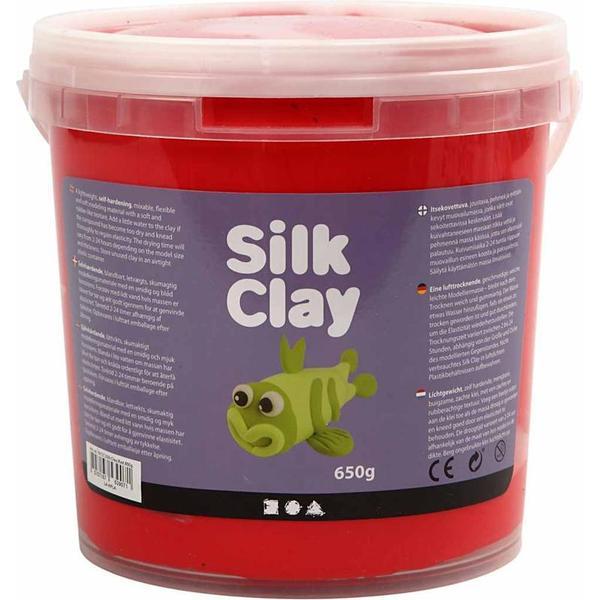 Silk Clay Red Clay 650g