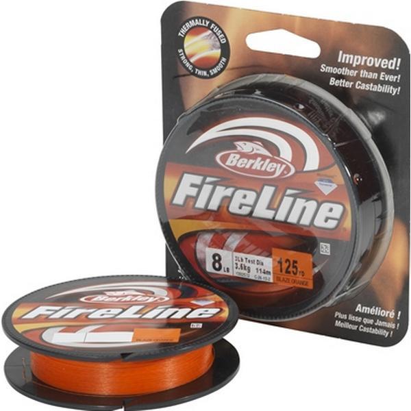 Berkley FireLine Blaze Orange 0.10mm 110m