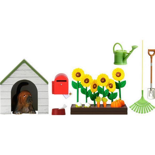 Lundby Smaland Garden Set + Kennel 60509000