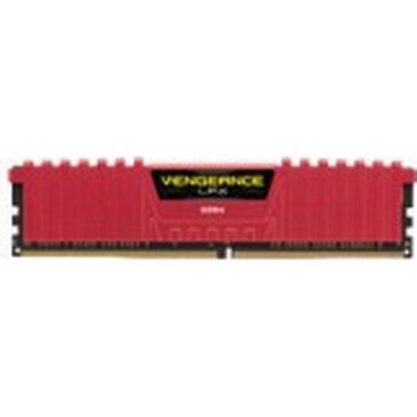 Corsair Vengeance LPX Red DDR4 3000MHz 2x4GB (CMK8GX4M2B3000C15R)