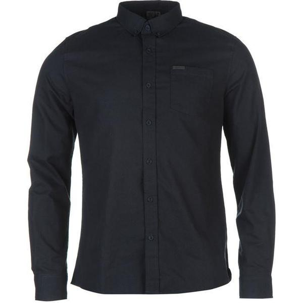 Firetrap Basic Oxford Shirt Navy