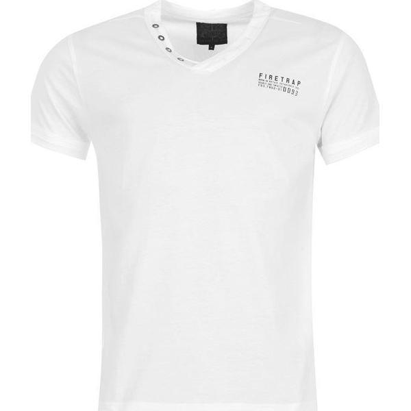 Firetrap Striding V Neck T-shirt White
