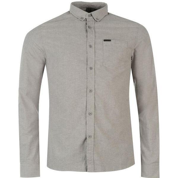 Firetrap Basic Oxford Shirt - Grey