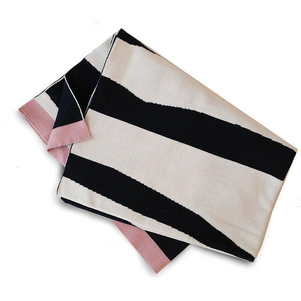Elodie Details Cotton Knitted Blanket Zebra Sunshine