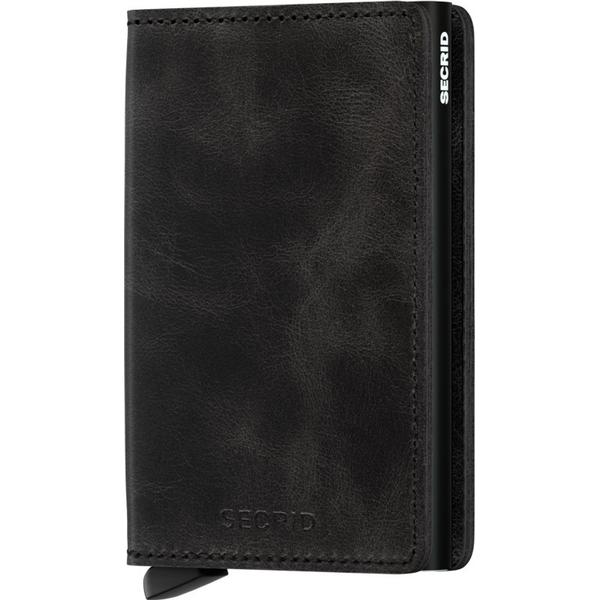 Secrid Slim Wallet - Black Vintage