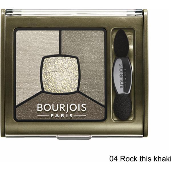 Bourjois Smoky Stories Quad Eyeshadow #04 Rock this khaki