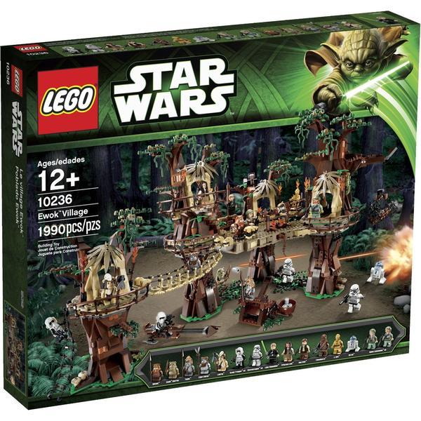 Lego Star Wars Ewok Landsbyen 10236