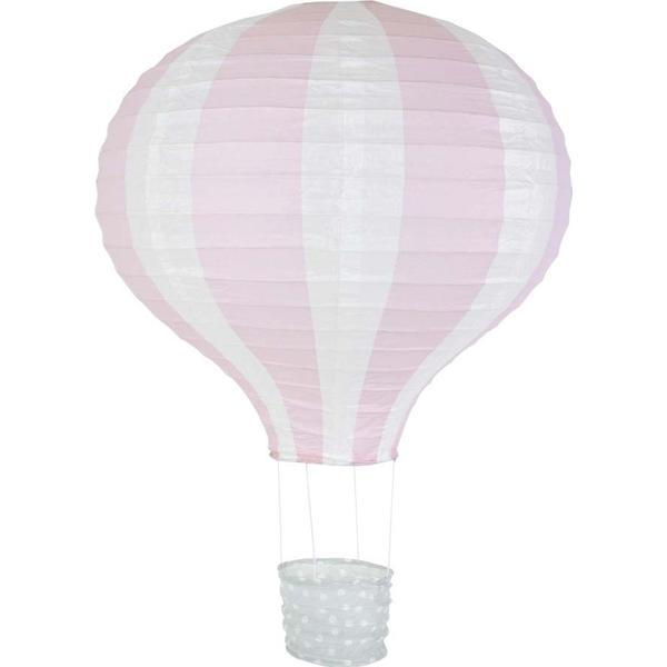 Jabadabado Chinese Lantern Balloon Light Pink 40cm Rispapperslampa