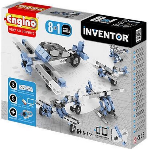 Engino 8-i-1 Byggesæt Inventor Luftfartøjer