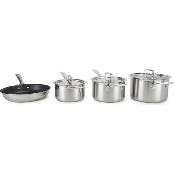 Le Creuset 3 Ply Stainless Steel Set 4 parts