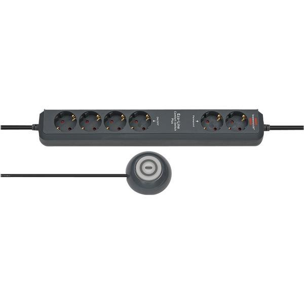 Brennenstuhl Eco-Line Comfort Switch Plus EL CSP 24 6-way 1.5m