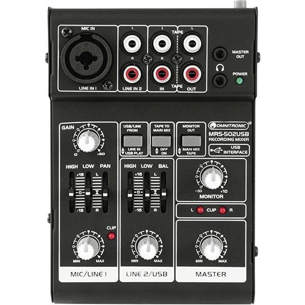 MRS-502USB Omnitronic