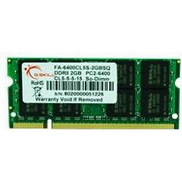 G.Skill DDR2 800MHz 2GB for Apple (FA-6400CL5S-2GBSQ)