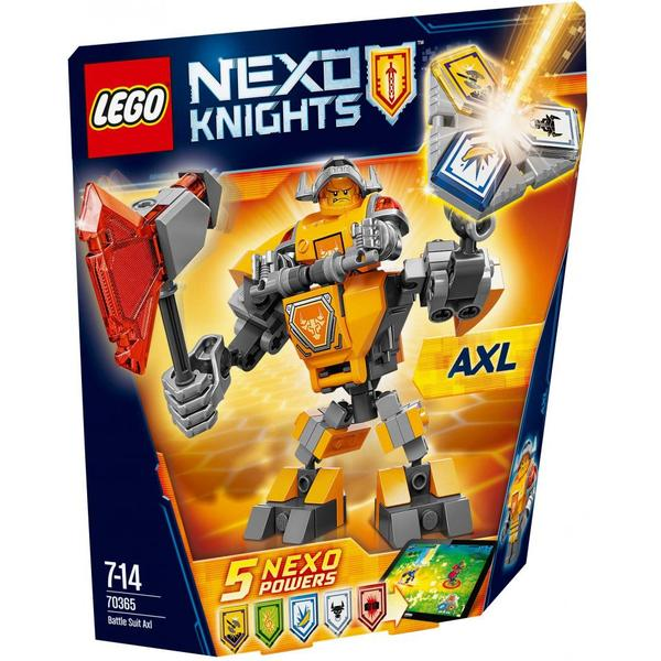 Lego Nexo Knights Battle Suit Axl 70365
