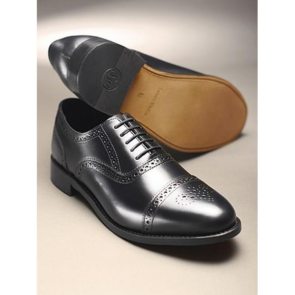 Men's/Women's:Classic Offers Semi-Brogue - Black: Special Offers Men's/Women's:Classic at the End of the Year c36afb