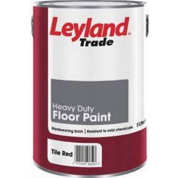 Leyland Trade Heavy Duty Floor Paint Grey 5L