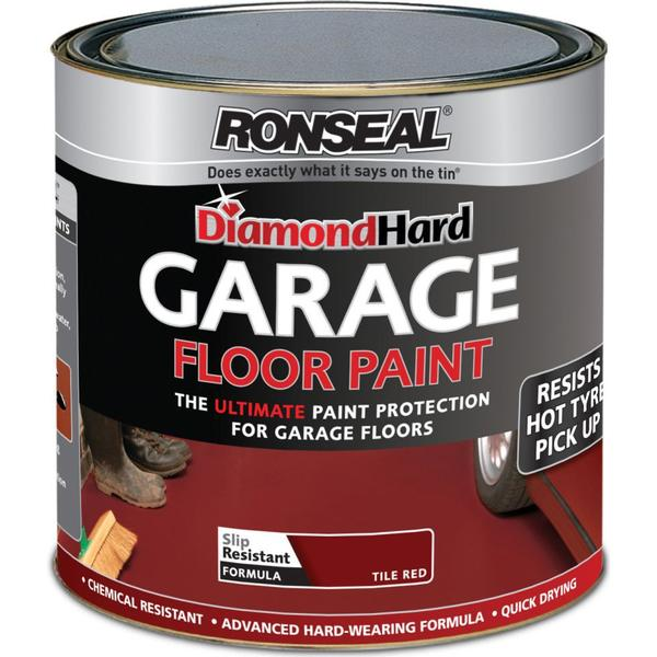 Ronseal Diamond Hard Garage Floor Paint Red 5L
