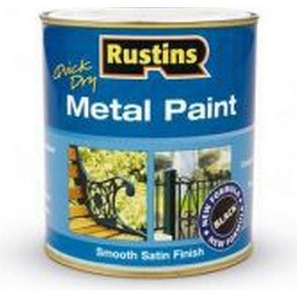 Rustins Quick Dry Metal Paint Black 0.25L