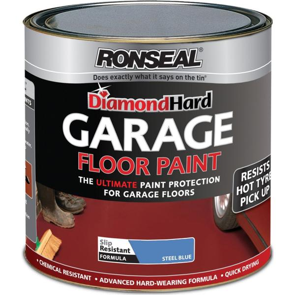 Ronseal Diamond Hard Garage Floor Paint Blue 2.5L