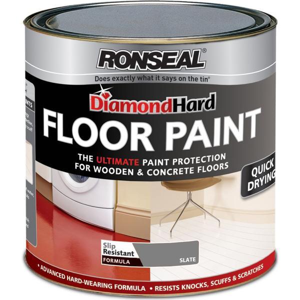 Ronseal Diamond Hard Floor Paint Grey 0.75L
