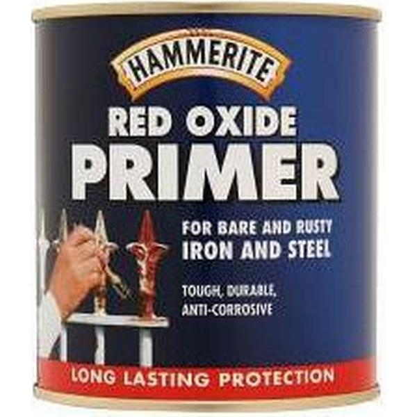 Hammerite Red Oxide Metal Paint Red 0.5L