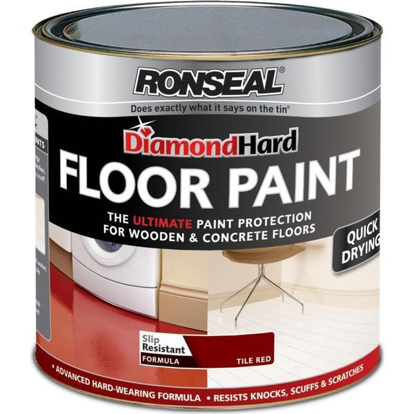 Ronseal Diamond Hard Floor Paint Red 2.5L