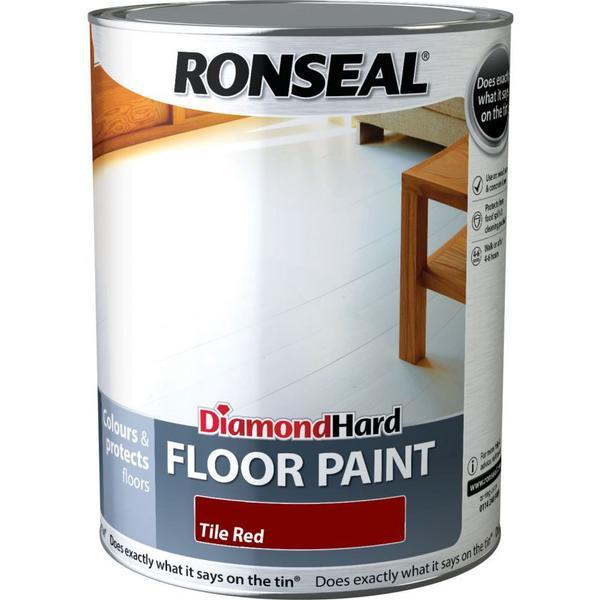 Ronseal Diamond Hard Floor Paint Red 5L