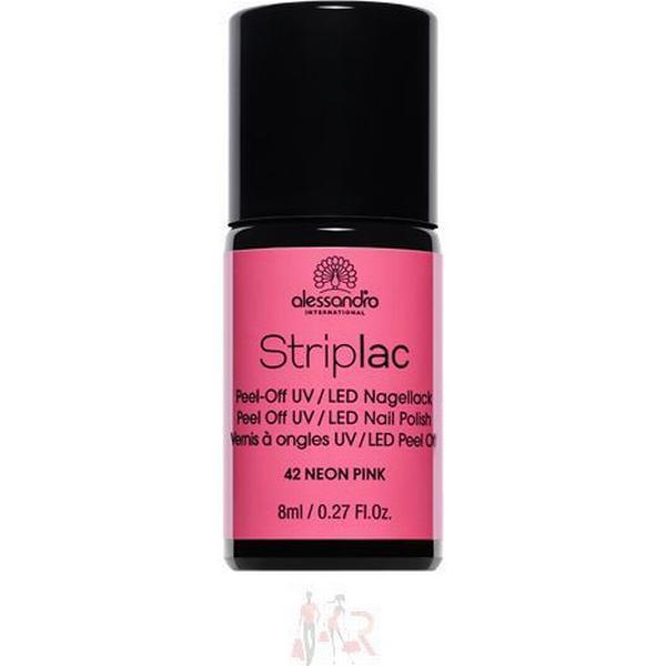 Alessandro Striplac Nail Polish #142 Neon Pink 8ml