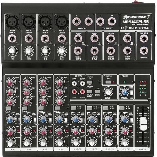 MRS-1402USB Omnitronic