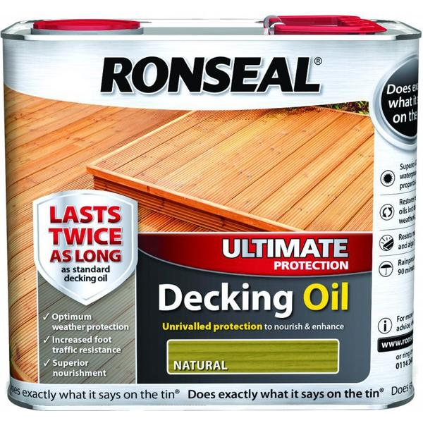 Ronseal Ultimate Protection Decking Oil Brown 2.5L