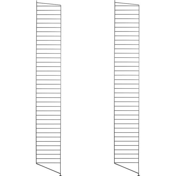 String 2 Golvgavlar 200x30cm Hyllsystem