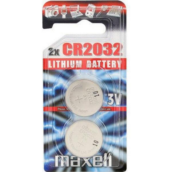 Maxell CR2032 Compatible 2-pack