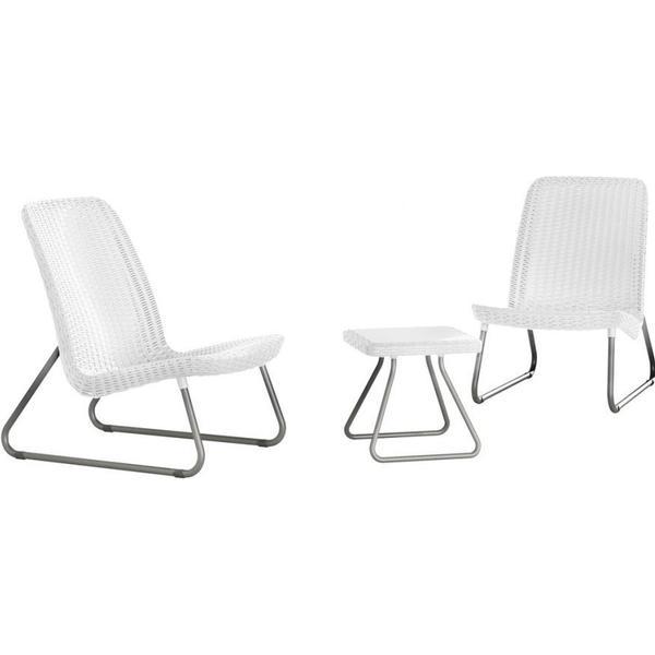 Keter Rio Loungesæt, 1 borde inkl. 2 stole