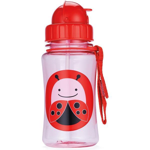 Skip Hop Zoo Straw Bottle Livie Ladybug