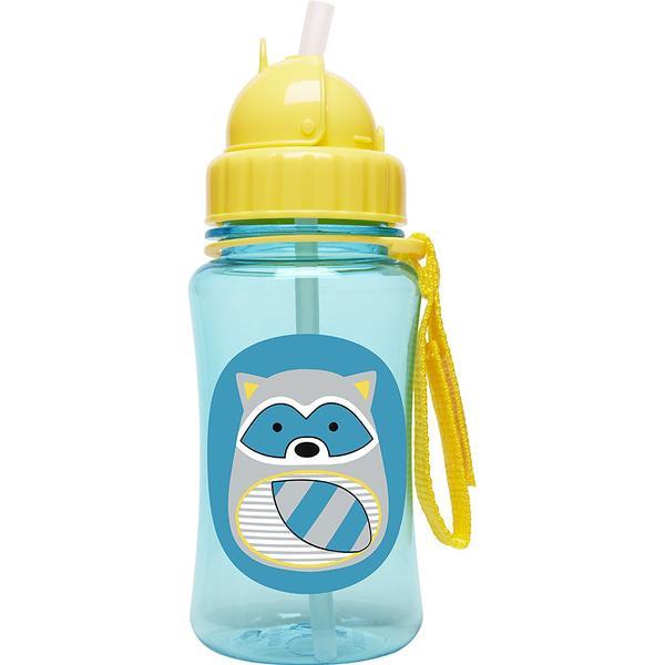 Skip Hop Zoo Straw Bottle Riggs Raccoon