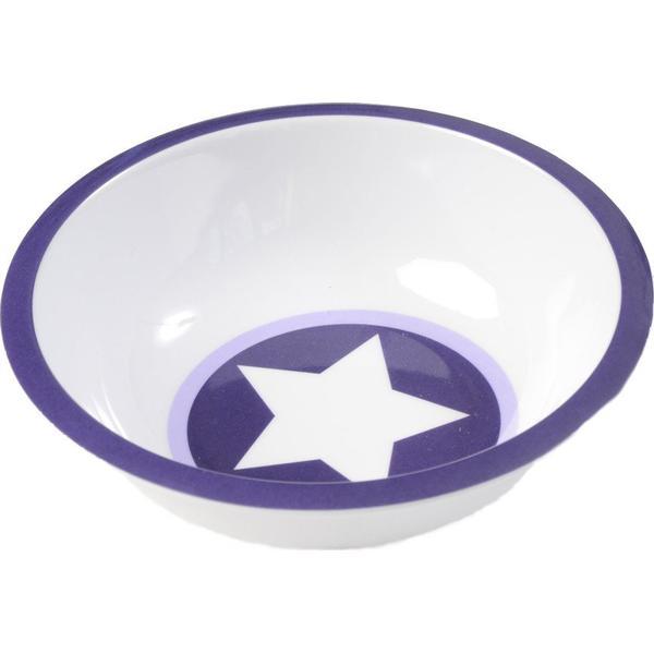 Smallstuff Dyb Tallerken Lavendel Stjerne