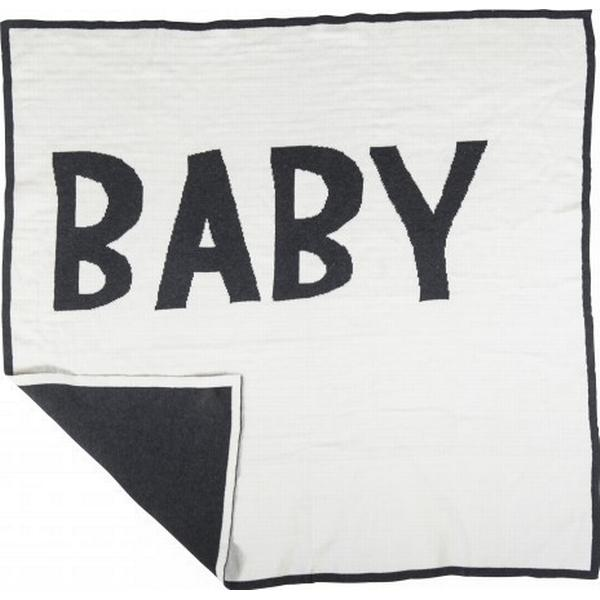 Sebra Strikket Babytæppe 80cm