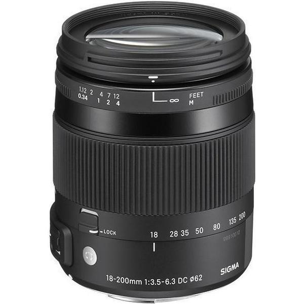 Sigma 18-200mm F3.5-6.3 DC Macro OS HSM C for Pentax