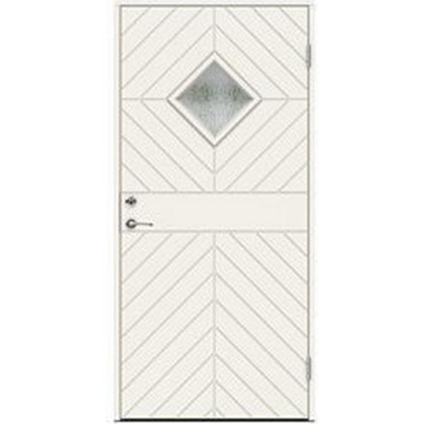 Swedoor Albinoni Ytterdörr Cotswoldglas S 0502-Y H (90x210cm)