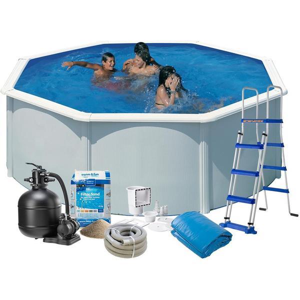 Swim & Fun Octagon Pool Package 2010B