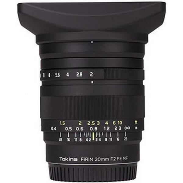 Tokina Firin 20mm F2 FE MF for Sony E