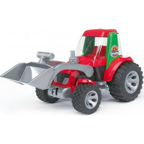 Bruder Traktor med Frontlæsser 20102