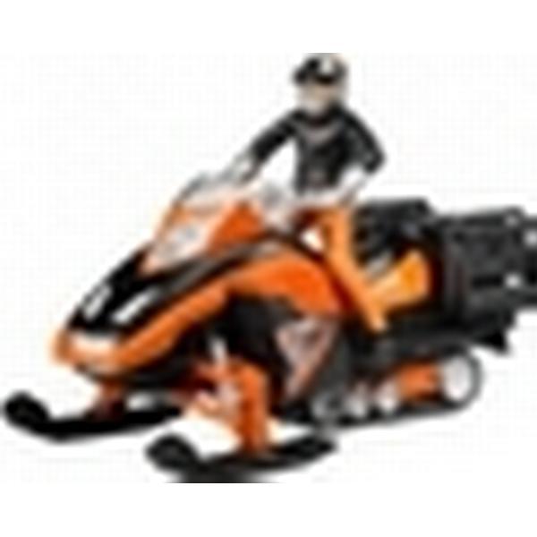 Bruder Snescooter med Chauffør og Udstyr 63101