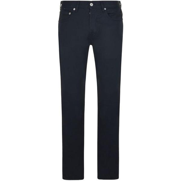 Stone Island Cotton Satin Slim Fit Jeans - Navy V0020