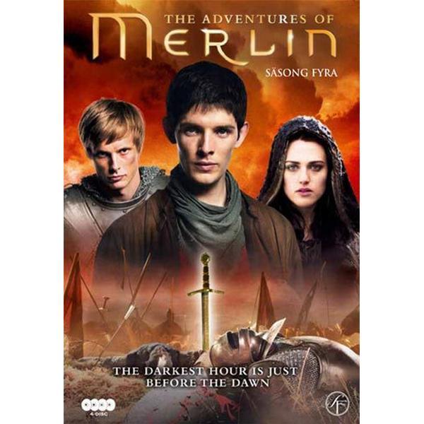 Merlin: Säsong 4 (4DVD) (DVD 2011)