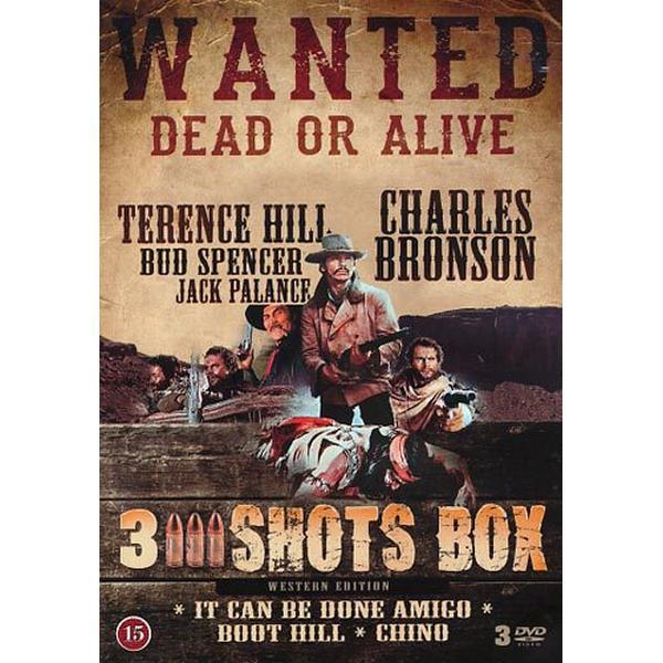 3 Shots box - 3 filmer (3DVD) (DVD 2014)