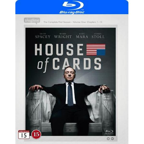 House of cards: Säsong 1 (2Blu-ray) (Blu-Ray 2013)