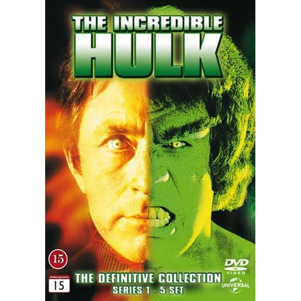 Incredible Hulk: Complete series 1-5 box (23DVD) (DVD 2014)